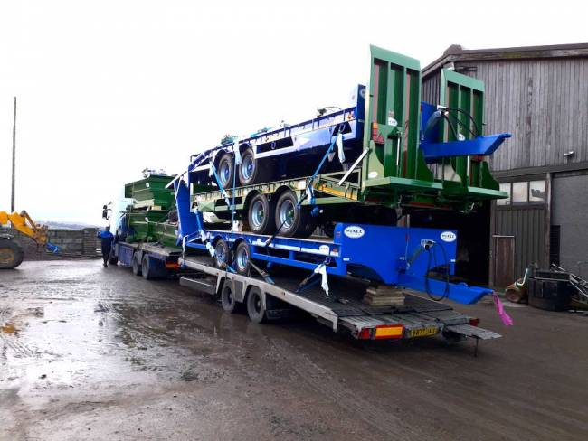 Another load of low loaders and dumpers arrived! Available to view now!