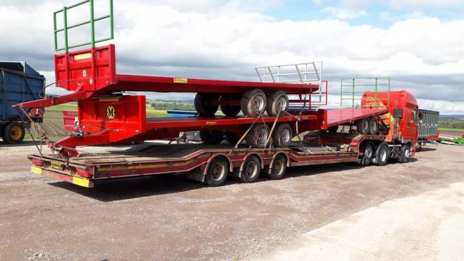 3 x refurbished bale trailers sold and on their way to England next week!