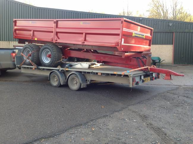 8 ton dropside delivered this week to Isle of Lewis!