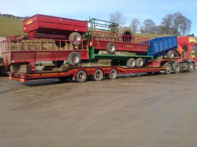 A load of MFM trailers going up to Dingwall this week!