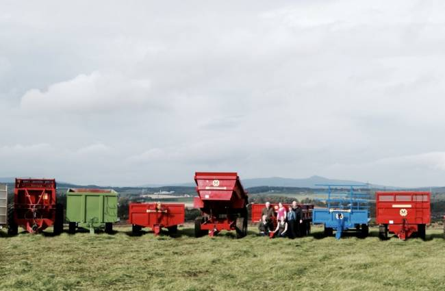Range of trailers available including bale trailers, dump trailers, livestock floats!