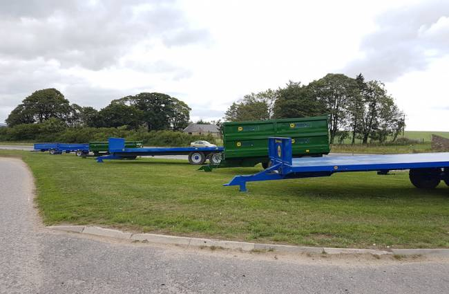 A great selection of trailers out of the workshop this week!