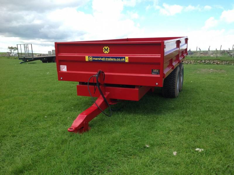 10 tonne dropside trailer (171)