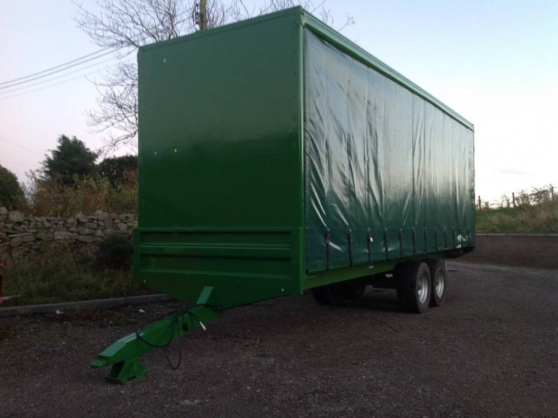 MADE TO ORDER - Curtain Sided Trailer (218)