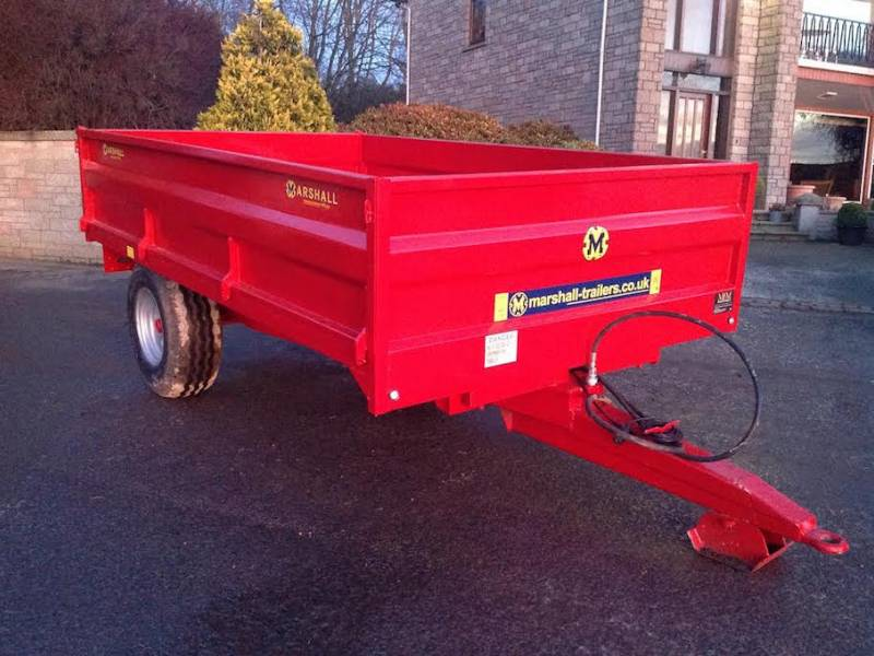 4 Tonne Marshall Dropside Trailer (245)