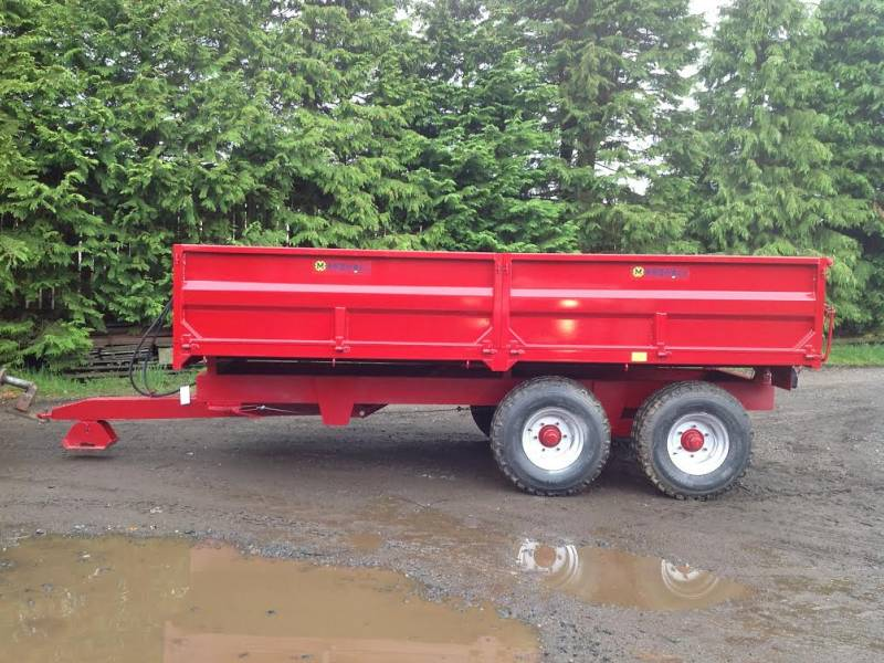 8 Tonne Marshall dropside trailer (251)