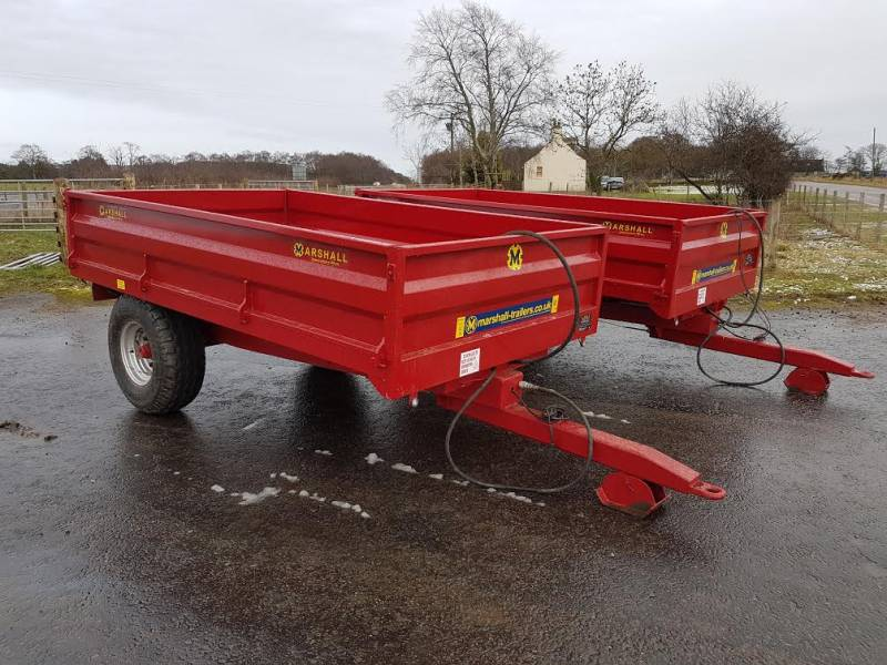 Choice of 2 4 Tonne Marshall Trailers (259)