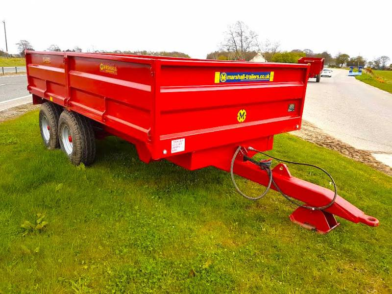 8 Tonne Dropside Red Trailer (291)