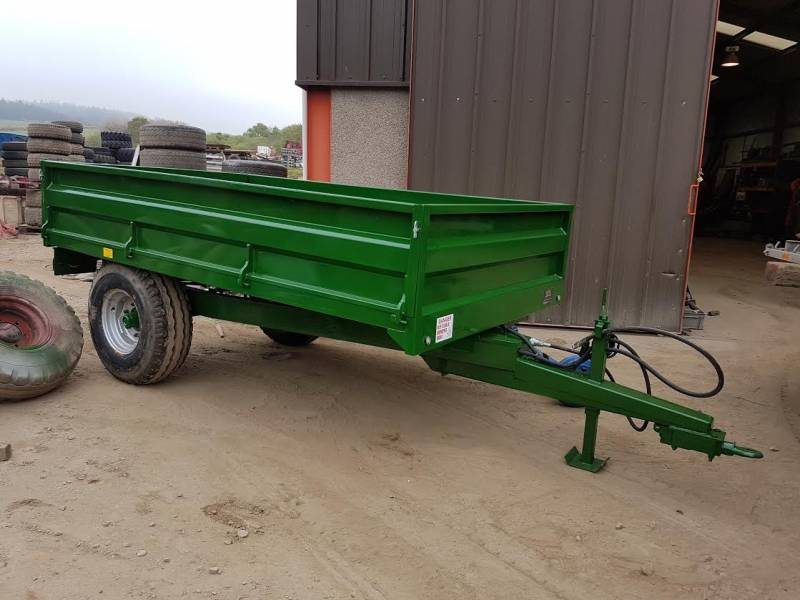 4 Tonne Refurbished Green Trailer (296)