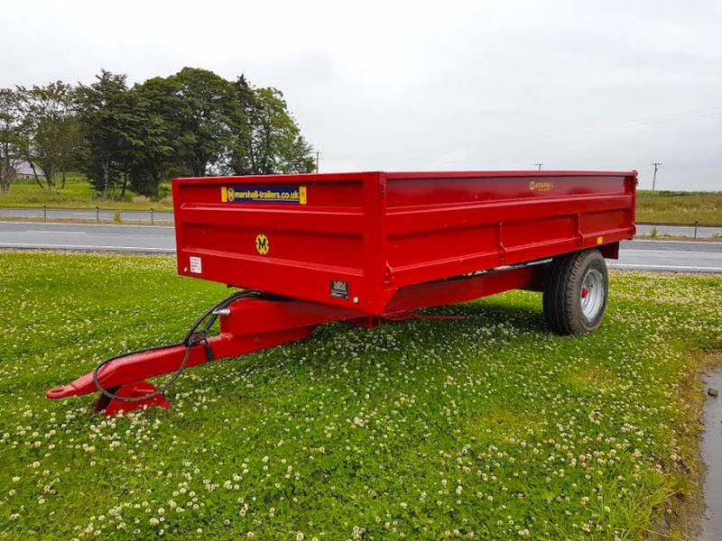 6 Tonne Marshall dropside trailer (323)