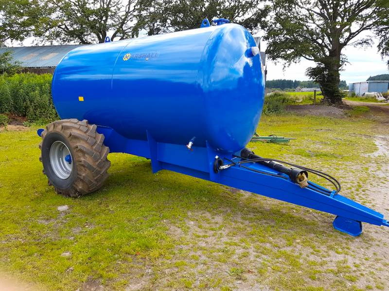 MADE TO ORDER - 1100-1500 gallon water bowsers (326)