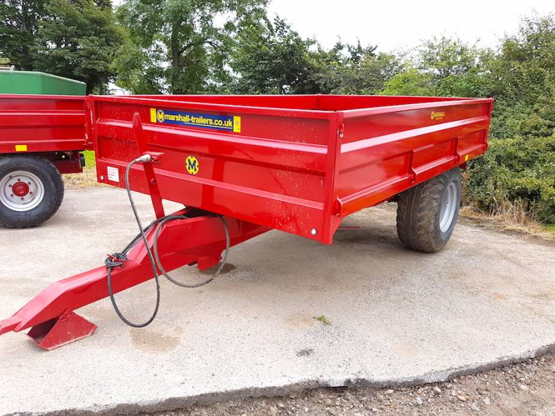 7 Tonne Marshall dropside trailer (329)