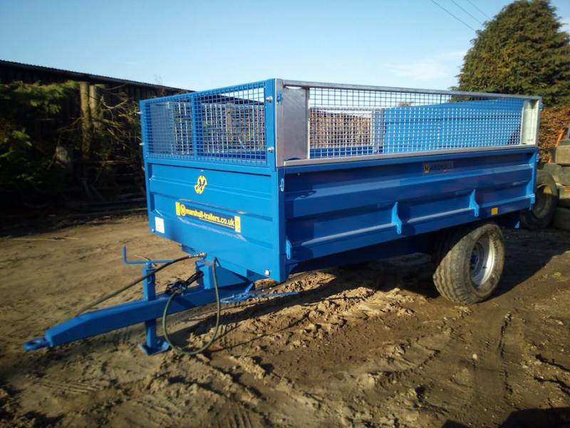 MADE TO ORDER - 4T/5T/6T Horticultural trailers (409)