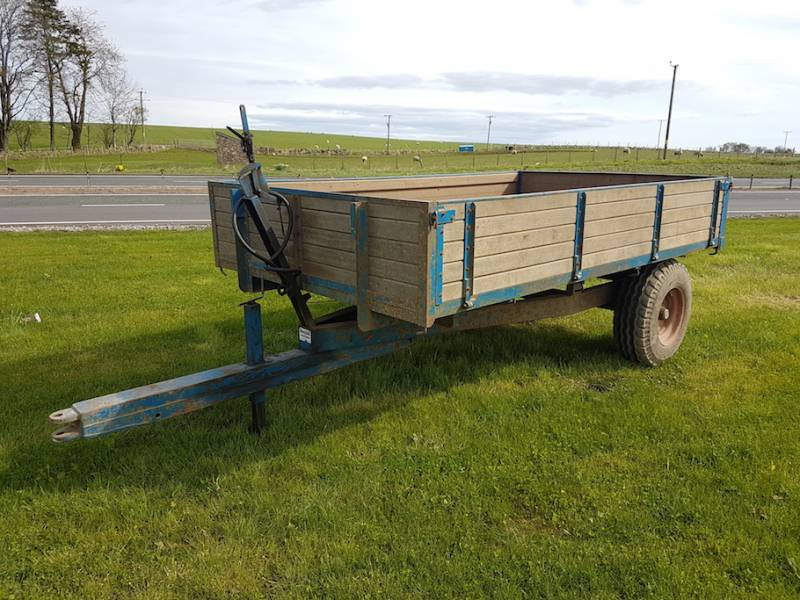 4 Tonne Classic Timber Trailer (411)
