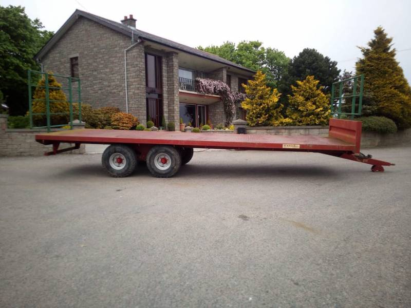 Marshall 25ft bale trailer (424)