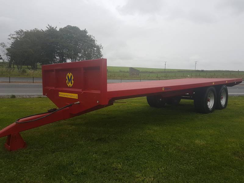 25ft New Bale Trailer (471)