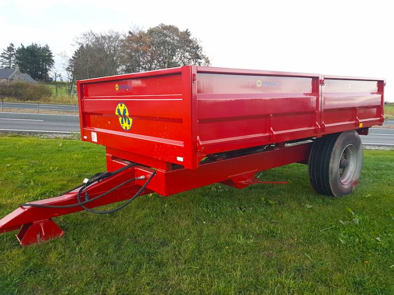 7 Tonne Dropside Trailer (473)