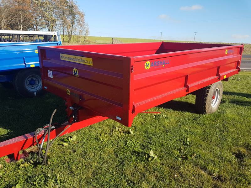 6 Tonne 12.5 wheels dropside trailer (477)