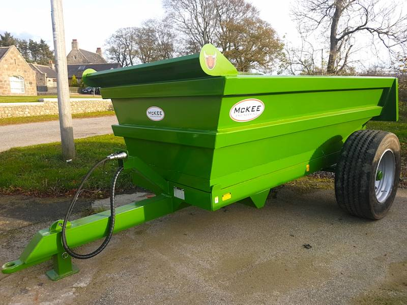 BRAND NEW - 8 Tonne Dump Trailer (481)