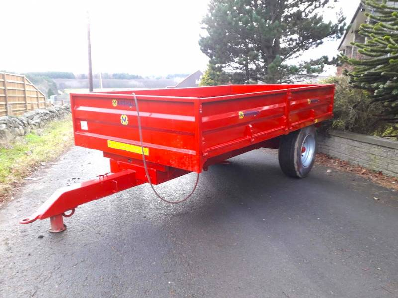 7 Tonne Dropside Trailer (512)