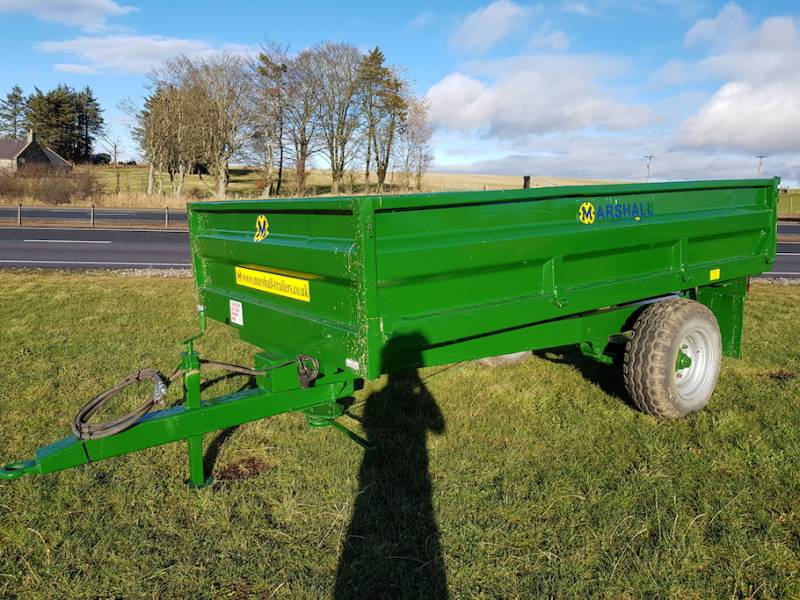 4 Tonne Dropside Trailer (529)