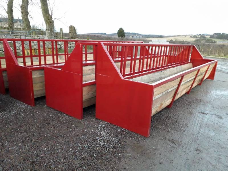 Cattle Troughs - made to length required (530)