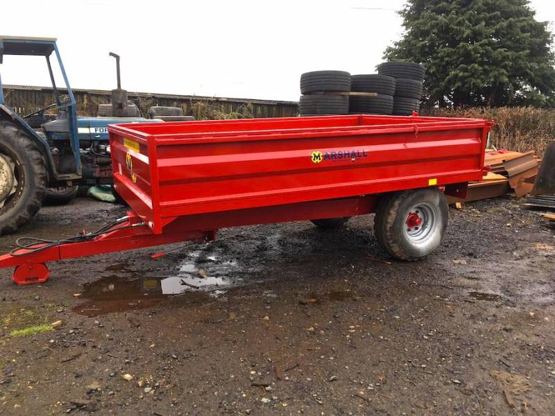 5 Tonne Trailer Solid one side/Dropside one side (551)