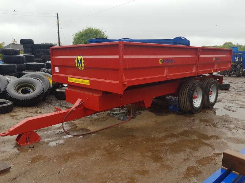 12 Tonne Dropside Trailer (564)