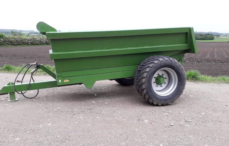 McKee 8 Tonne Single Axle Dump Trailer (578)