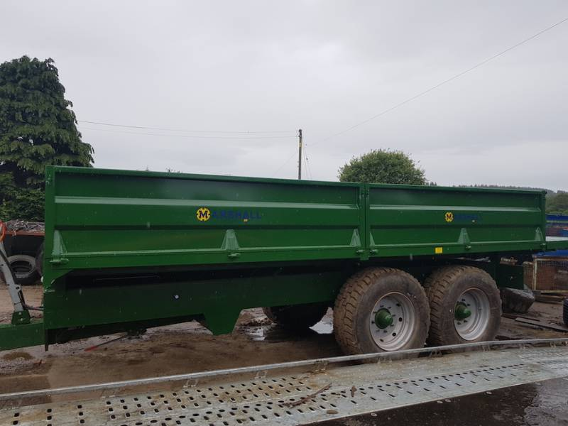 Dropside Trailers with Bale Extension - MADE TO ORDER (601)
