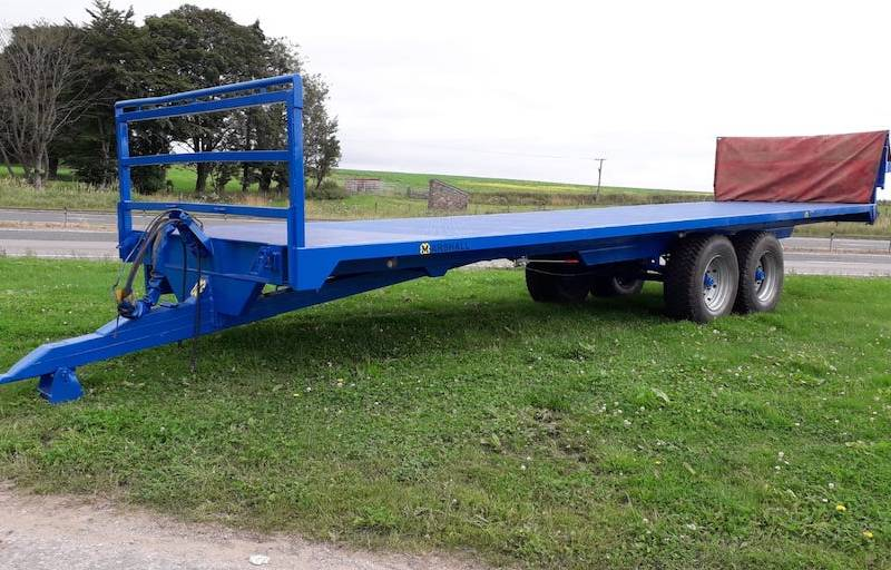 32ft Easterby Trailer with potato platform (623)