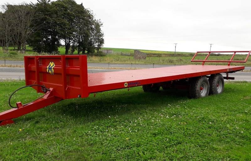 25ft Marshall Bale Trailer (624)