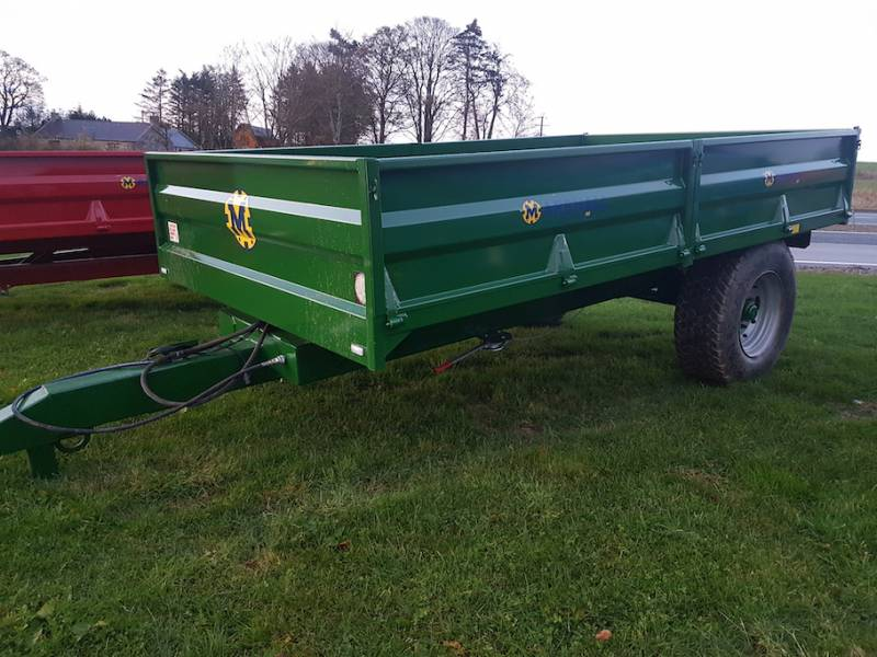 7 Tonne Dropside Trailer (646)
