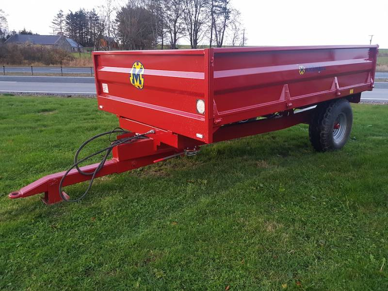 5 Tonne Dropside Trailer (647)
