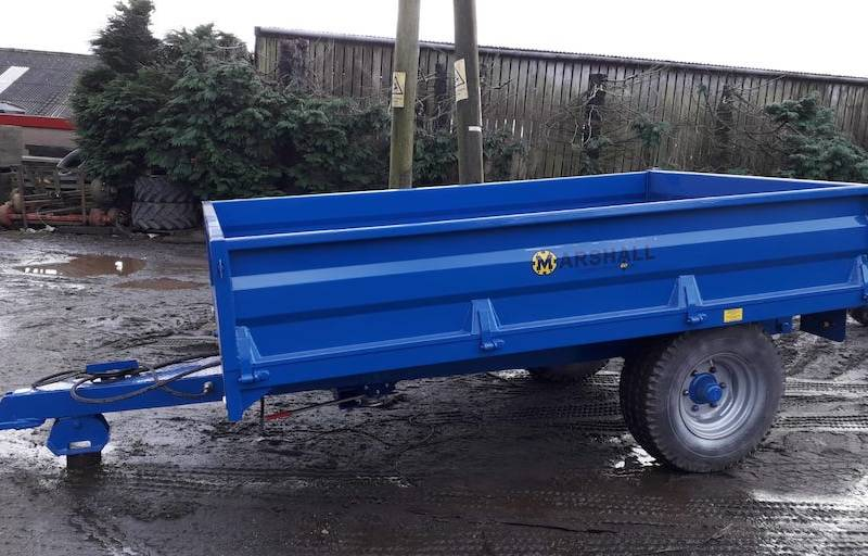 4 Tonne Dropside Trailer (651)