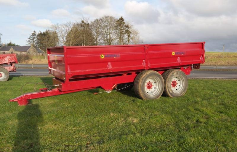 10 Tonne Dropside 8 stud axles (656)