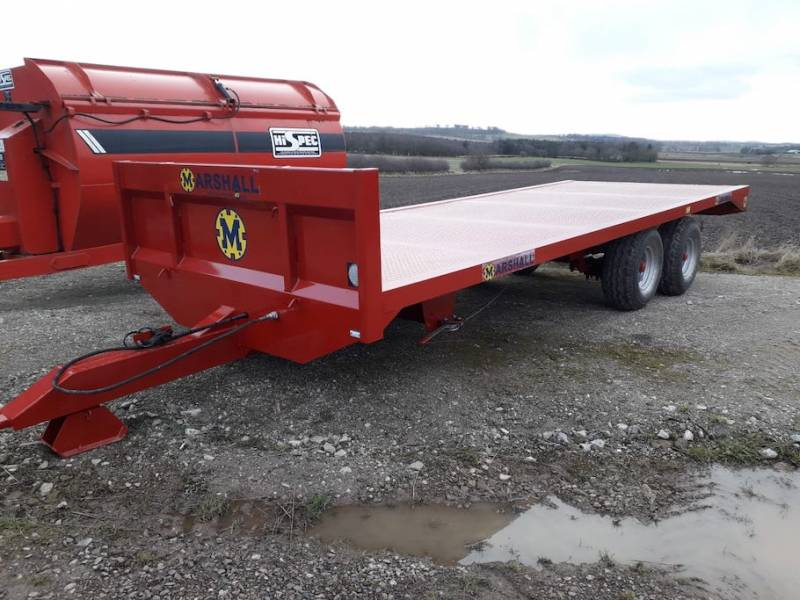 22ft Brand New Bale Trailer 10 Tonne (696)