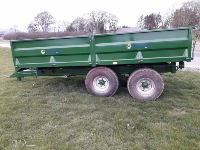8 Tonne Dropside Trailer (703)