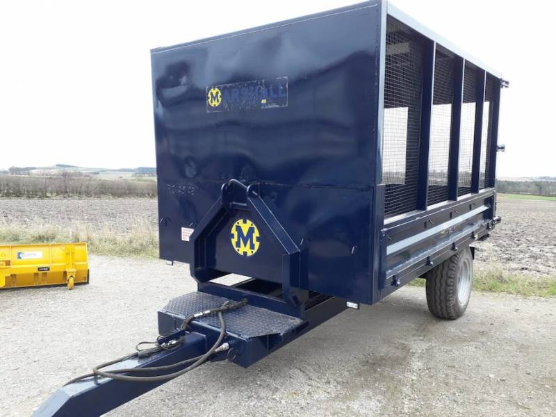 Cage Trailer - Ideal Trailer for Horses Muck or Garden Waste, 12ft long (716)