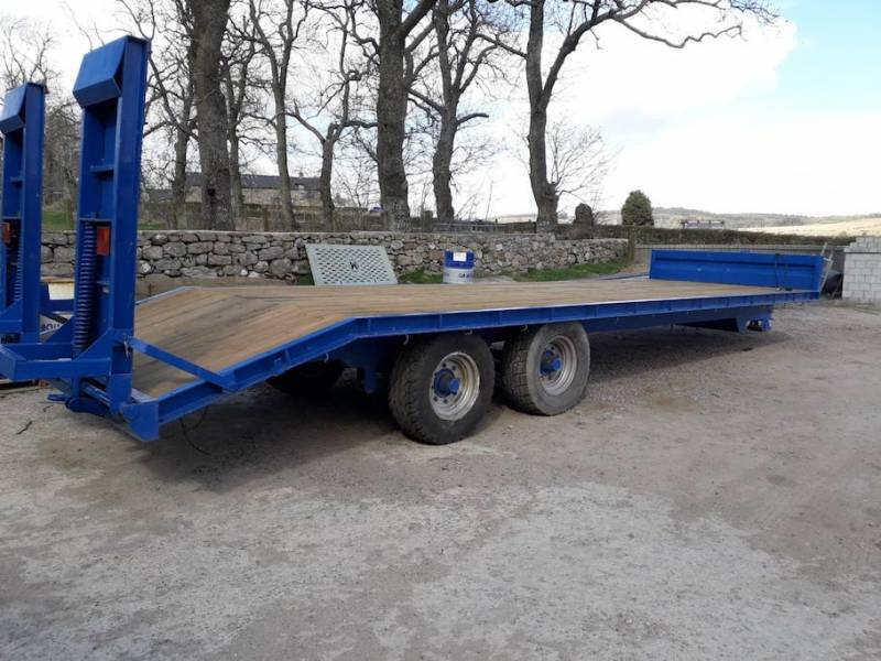 29ft Stewart Low Loader (719)