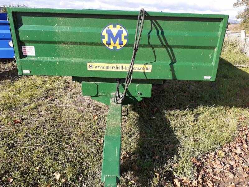 8 tonne Dropside Marshall trailer (786)