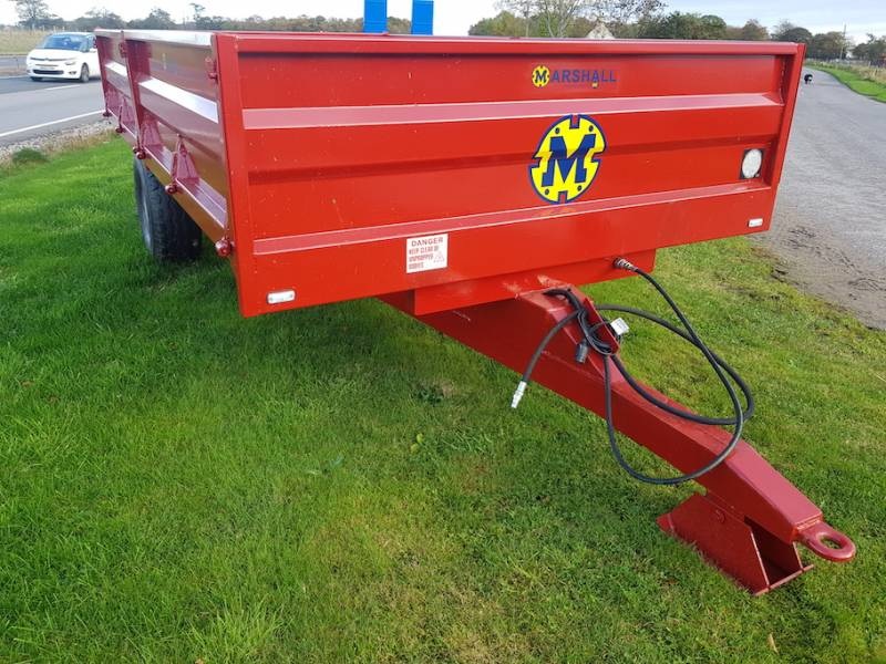 6 Tonne Dropside Trailer with new body (788)