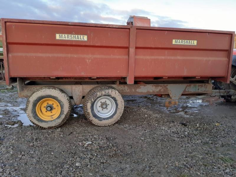 10 tonne monocoque trailer ideal for horse muck (795)
