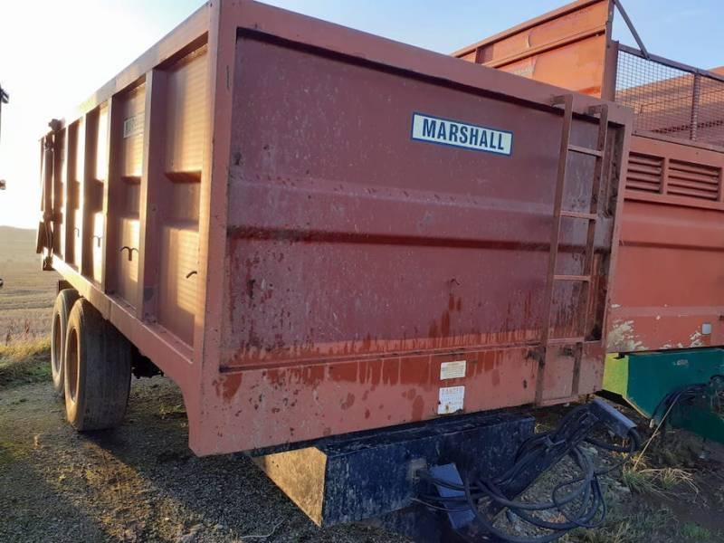 12 tonne marshall monocoque trailer (802)