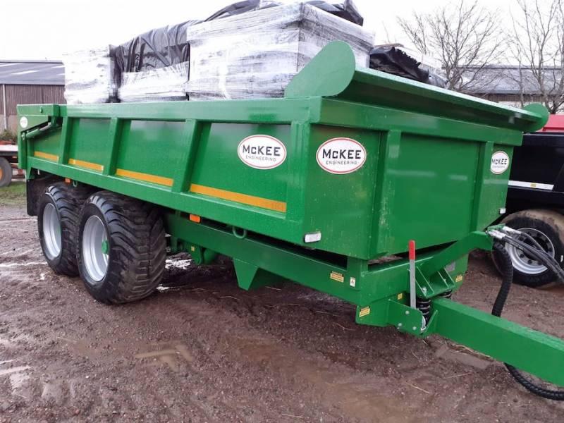 McKee 14 Tonne Dump Trailer (825)