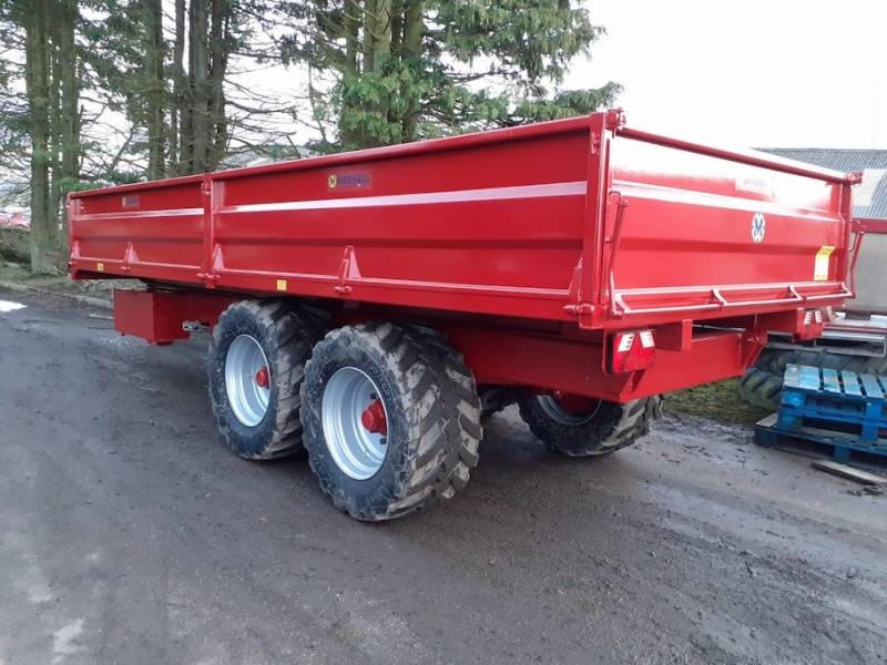 MADE TO ORDER* 14 tonne, dropside trailer (842)