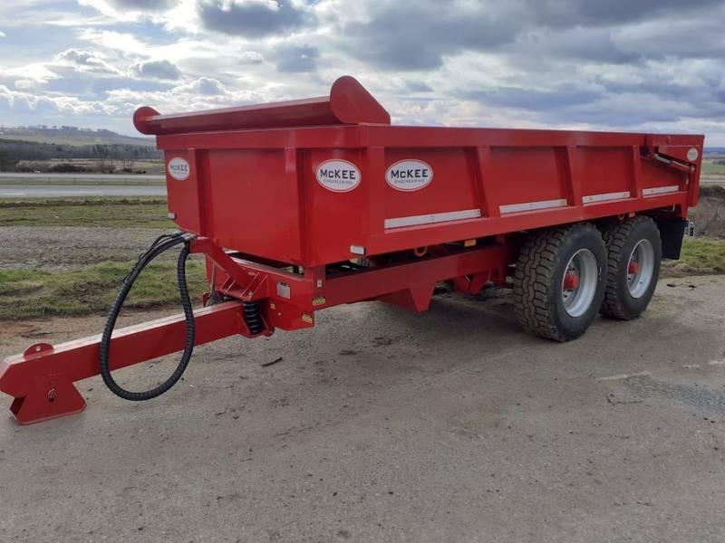 McKee 8 ton Dump Trailer (847)