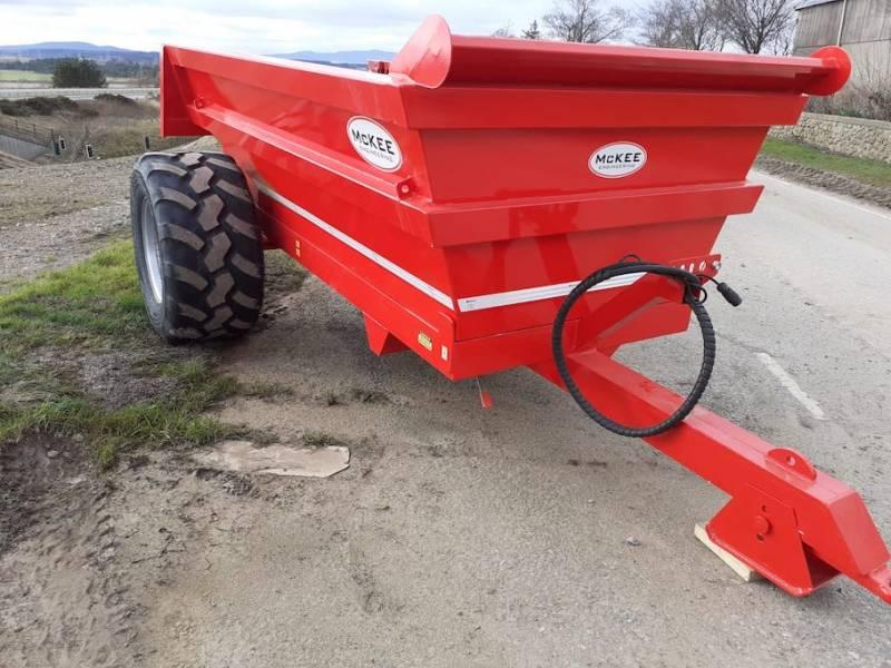 McKee 8 ton Dump Trailer (848)