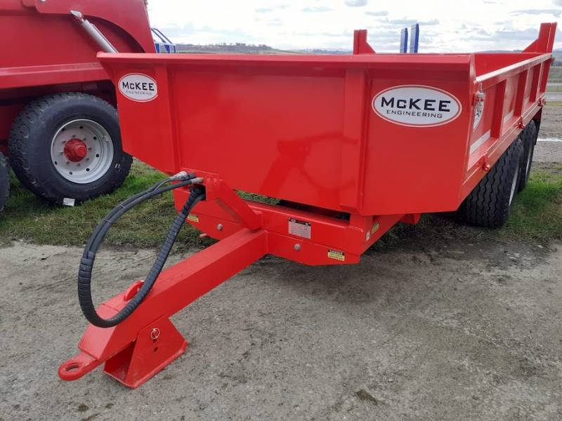 McKee 8 ton dropside trailer (850)