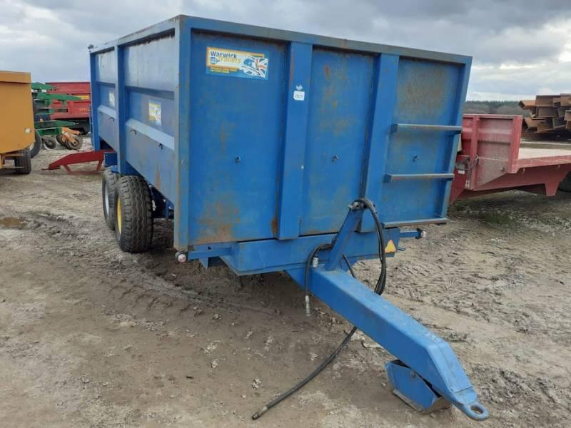 8 tonne monocoque trailer (859)